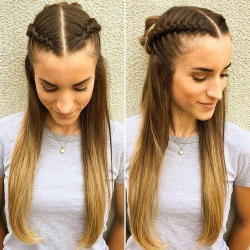 20 Hairstyles For Greasy Hair That Hide Oily Roots | Styles For My Within Most Recently Double French Braid Crown Hairstyles (View 9 of 15)