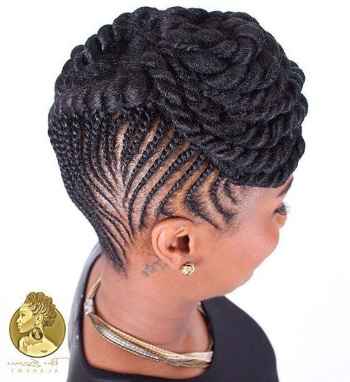 20 Hottest Flat Twist Hairstyles For This Year | Natural Hairstyles pertaining to Most Popular Cornrows Twist Hairstyles