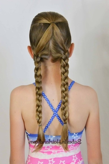 20 Perfect Swimming Hairstyles – Girl Loves Glam Within Most Current Braided Hairstyles For Swimming (View 13 of 15)