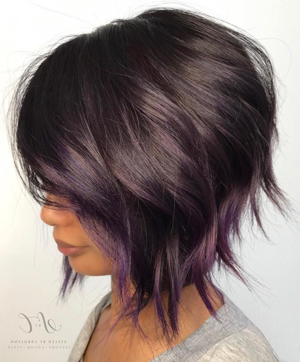 20 Purple Balayage Ideas From Subtle To Vibrant | Pinterest | Purple Within Most Popular Balayage Pixie Haircuts With Tiered Layers (View 15 of 15)
