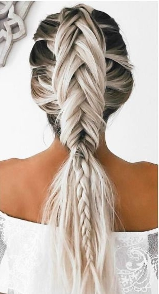 Featured Photo of Braided Hairstyles For White Hair