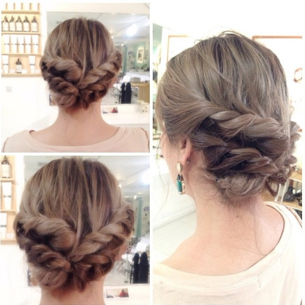 20 Twisted Hairstyles You Have To Try Asap – Gurl   Gurl Intended For Latest Fancy Twisted Updo Hairstyles (View 3 of 15)