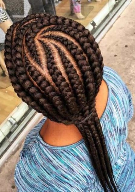 Featured Photo of Braids Hairstyles With Curves