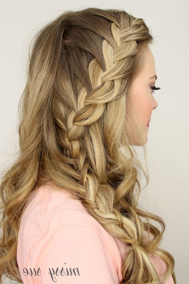 2015 Prom Hairstyles – Half Up Half Down Prom Hairstyles 18 | Prom Within 2018 Braided Hairstyles For Prom (View 15 of 15)