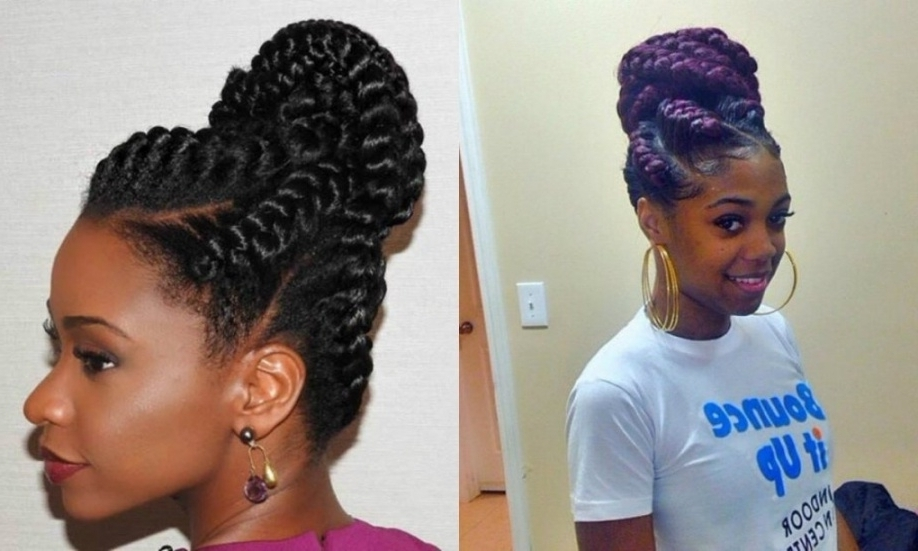 2017 Attractive Goddess Braids Updo Hairstyles Tips – 2017 Regarding With Best And Newest Braided Goddess Updo Hairstyles (View 15 of 15)