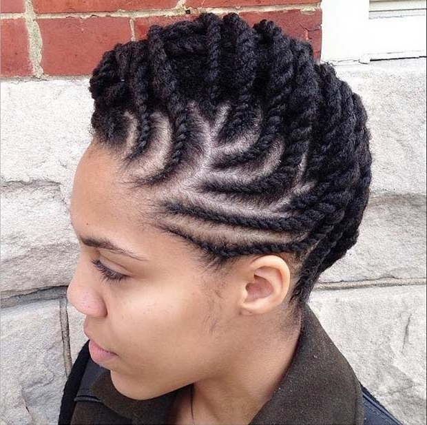 21 Best Protective Hairstyles For Black Women | Page 2 Of 2 | Stayglam Pertaining To 2018 Cornrows Hairstyles For Work (View 5 of 15)