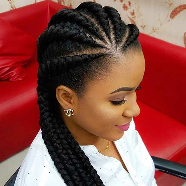 21 Best Protective Hairstyles For Black Women | Stayglam Inside Most Current Cornrows African Hairstyles (View 8 of 15)