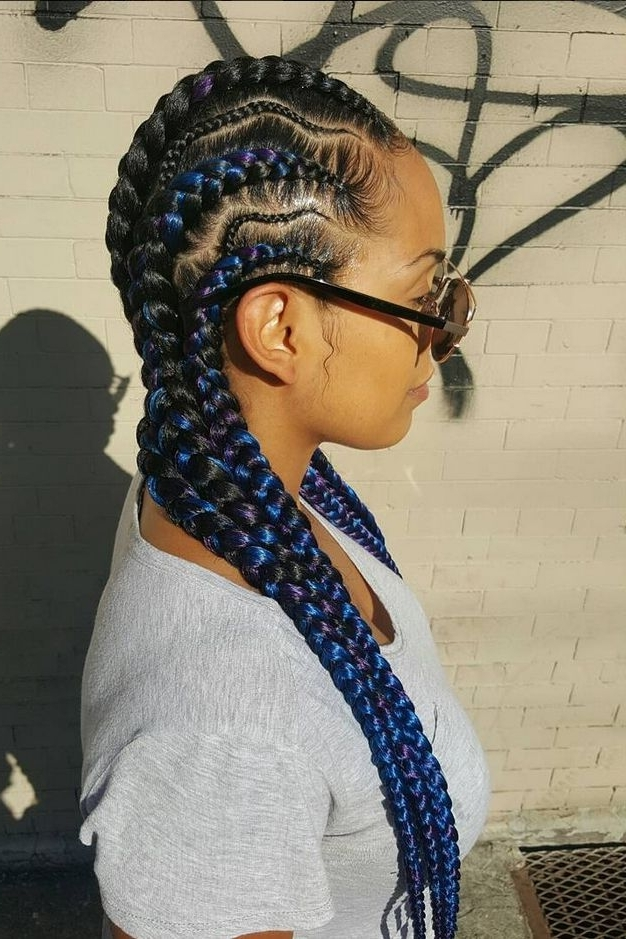 21 Cool & Creative Cornrow Hairstyles To Try   Braids, Wraps Throughout Most Current Creative Cornrows Hairstyles (View 1 of 15)