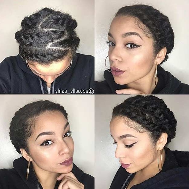 21 Gorgeous Flat Twist Hairstyles | Stayglam For Most Current Reverse Flat Twists Hairstyles (View 12 of 15)