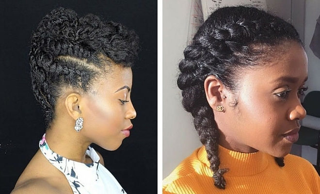 21 Gorgeous Flat Twist Hairstyles | Stayglam Intended For Most Recent Reverse Flat Twists Hairstyles (View 3 of 15)