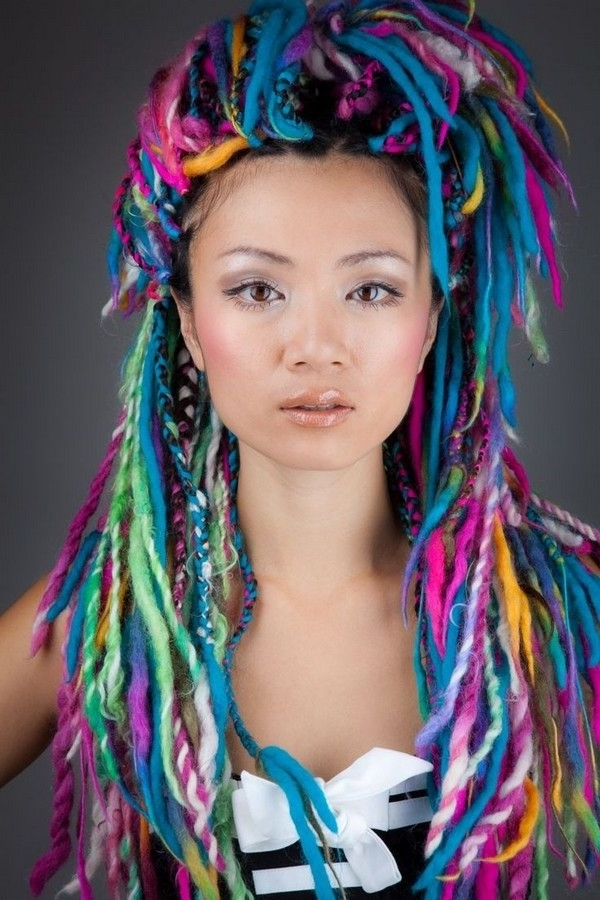 21 Yarn Braid Hairstyles And How To Do Yarn Braids | Hairs With Recent Braided Yarn Hairstyles (View 5 of 15)