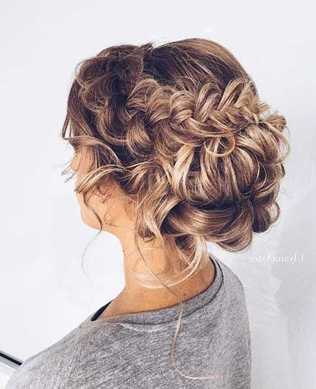 24 Best Braided Updo Prom Hairstyles – Styles 2018 With Regard To Latest Braided Evening Hairstyles (View 14 of 15)