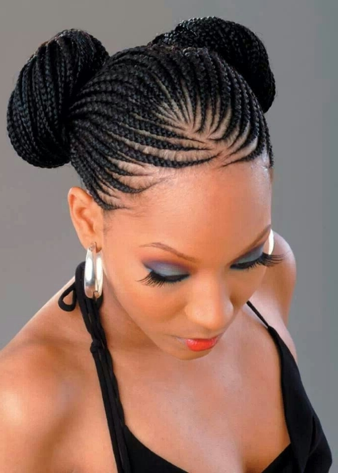 24 Gorgeously Creative Braided Hairstyles For Women   Styles Weekly Regarding Most Up To Date Creative Cornrows Hairstyles (View 11 of 15)