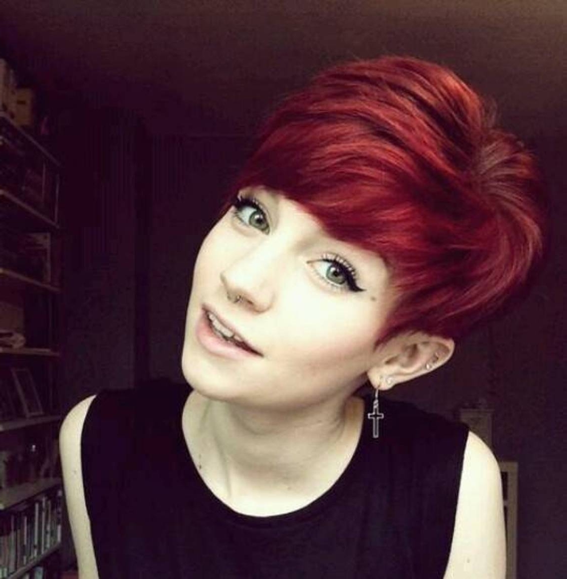 24 Really Cute Short Red Hairstyles | Styles Weekly Pertaining To Most Recently Long Red Pixie Haircuts (View 3 of 15)