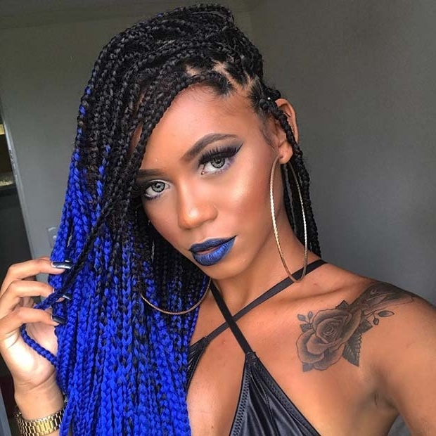 25 Best Black Braided Hairstyles To Copy In 2018   Stayglam Intended For Most Popular Braided Hairstyles (View 13 of 15)
