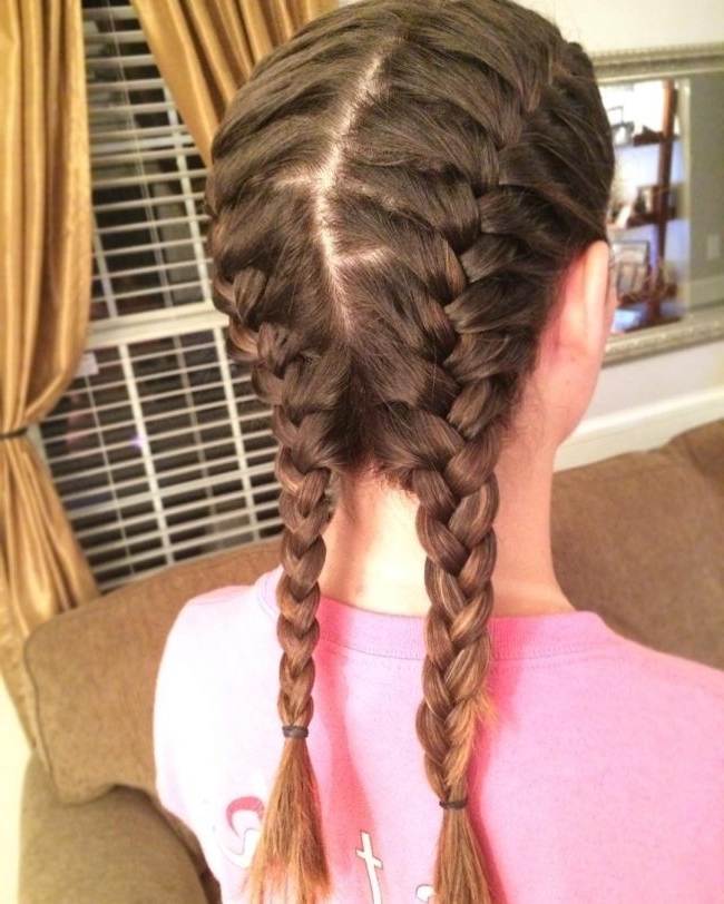 25 Cute Pigtail Braids Hairstyles — French, Dutch, Fishtails For Best And Newest French Braids Into Pigtails (View 13 of 15)
