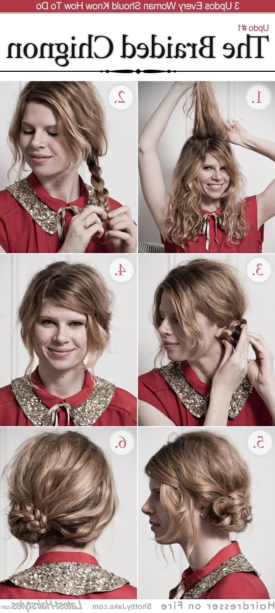25 Diy Braided Hairstyles You Really Have To Pin In Best And Newest Diy Braided Hairstyles (View 9 of 15)