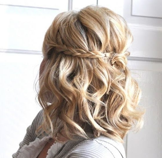25 Easy Hairstyles With Braids | Pinterest | Lob, Hair Style And Throughout Newest Braided Lob Hairstyles (View 8 of 15)