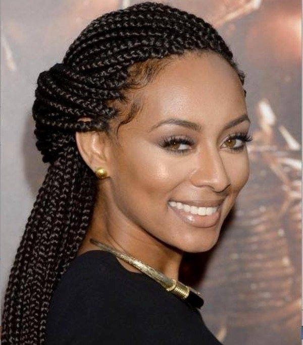 25 Hottest Braided Hairstyles For Black Women – Head Turning Braided Within Best And Newest Singles Braided Hairstyles (View 15 of 15)