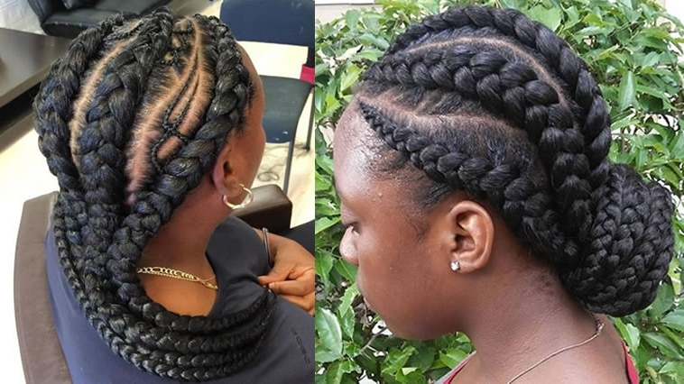 25 Incredibly Nice Ghana Braids Hairstyles For All Occasions In Most Up To Date Ghanaian Braided Hairstyles (View 14 of 15)