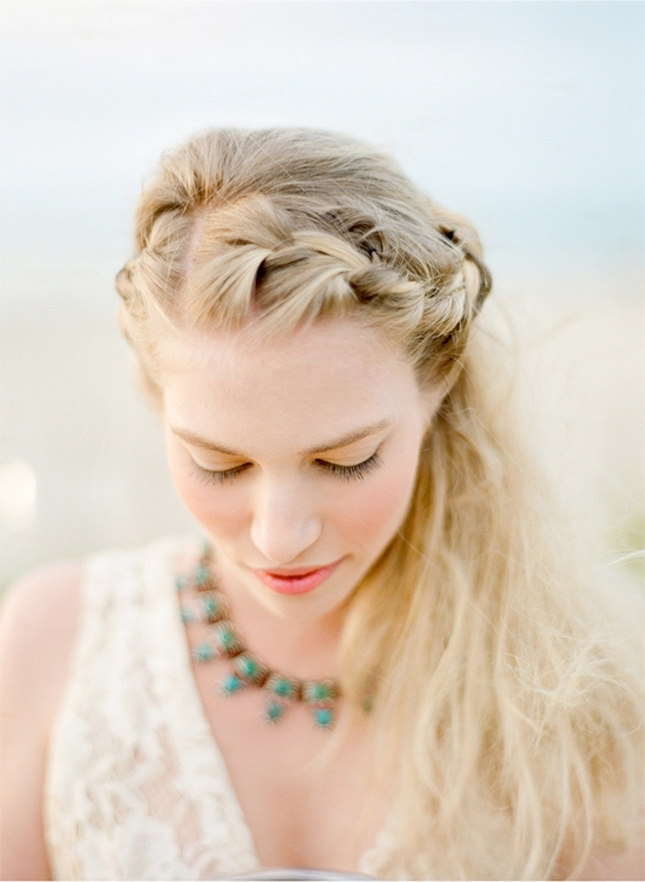 25 Of The Most Beautiful Braided Bridal Updos : Chic Vintage Brides Pertaining To Current Braided Vintage Hairstyles (View 10 of 15)