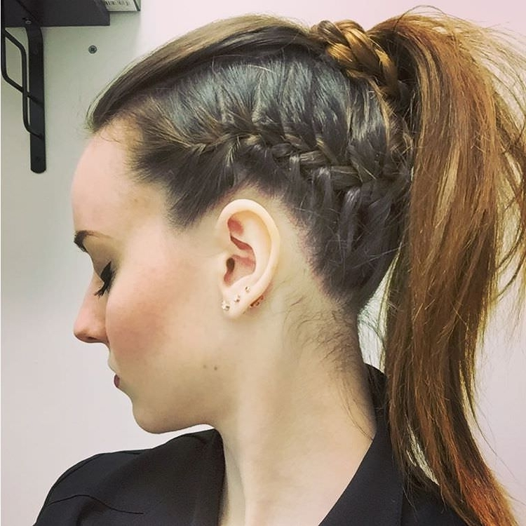 25+ Side Braid Hairstyle Designs, Ideas | Design Trends – Premium Inside 2018 Braided Hairstyles To The Side (View 15 of 15)