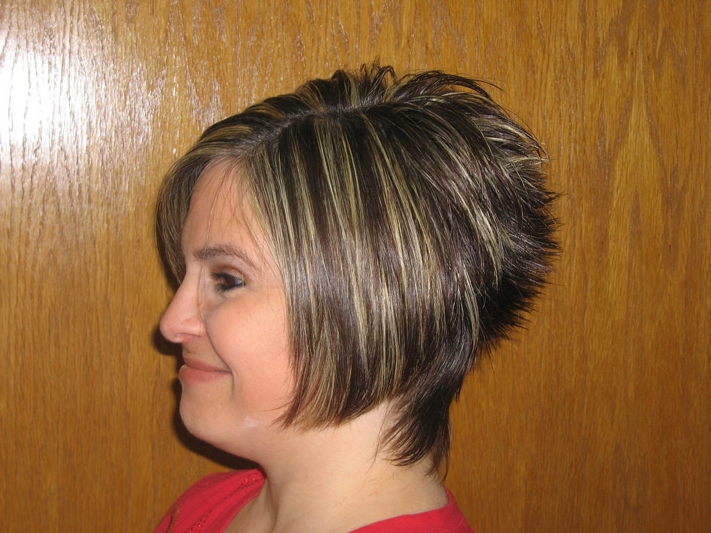 Image Gallery Of Angled Pixie Bob Haircuts With Layers View 1 Of 15