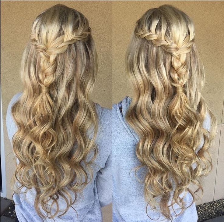 28 Best Prom Images On Pinterest   Centerpieces, Table Centers And With Regard To 2018 Braided Hairstyles For Homecoming (View 14 of 15)