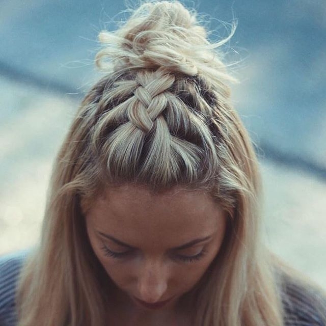 28 Cute Braided Hairstyles For 2017 – Young Hip Fit With Most Current Cute Braided Hairstyles (View 5 of 15)