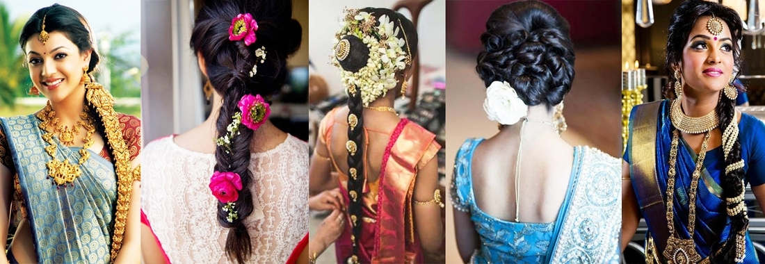29 Breathtaking Braided Hairstyles For Indian Women   Hairstylo Inside 2018 Indian Braided Hairstyles (View 5 of 15)