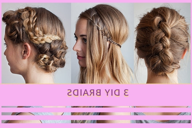 3 Braided Hairstyles, Super Cute – Youbeauty Regarding Latest Diy Braided Hairstyles (View 10 of 15)