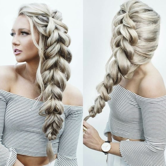 30 Amazing Braided Hairstyles For Medium & Long Hair – Delightful With Regard To Latest Braided Hairstyles (View 8 of 15)