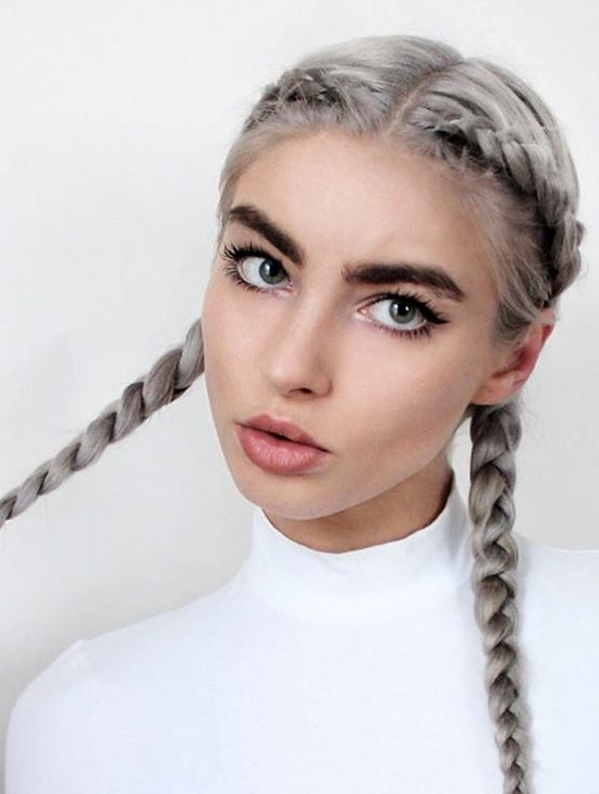 30 Badass Boxer Braids You Need To Try   Fashionisers For 2018 Pigtails Braids With Rings For Thin Hair (View 10 of 15)