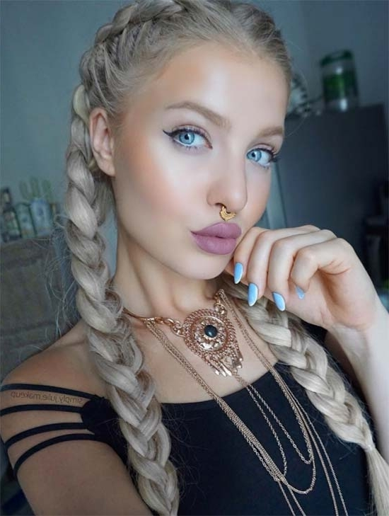 30 Badass Boxer Braids You Need To Try | Fashionisers With Most Recent Blonde Braided Hairstyles (View 5 of 15)