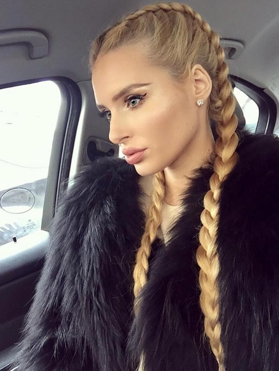 30 Badass Boxer Braids You Need To Try | Fashionisers With Regard To 2018 Two Cornrow Boxer Braids (View 6 of 15)