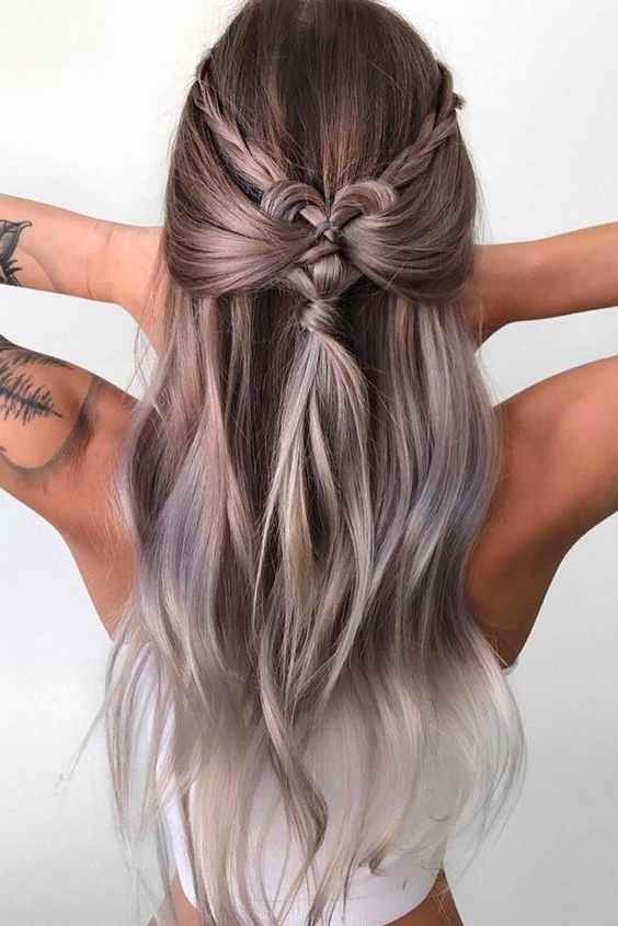 30 Boho And Hippie Hairstyles For Chill Vibes All Year Long Inside Newest Heart Braided Hairstyles (View 9 of 15)