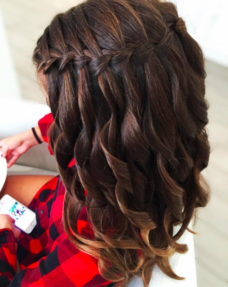 30 Braid Hairstyles For Medium Hair | Herinterest/ Within Most Current Braided Hairstyles For Layered Hair (View 8 of 15)