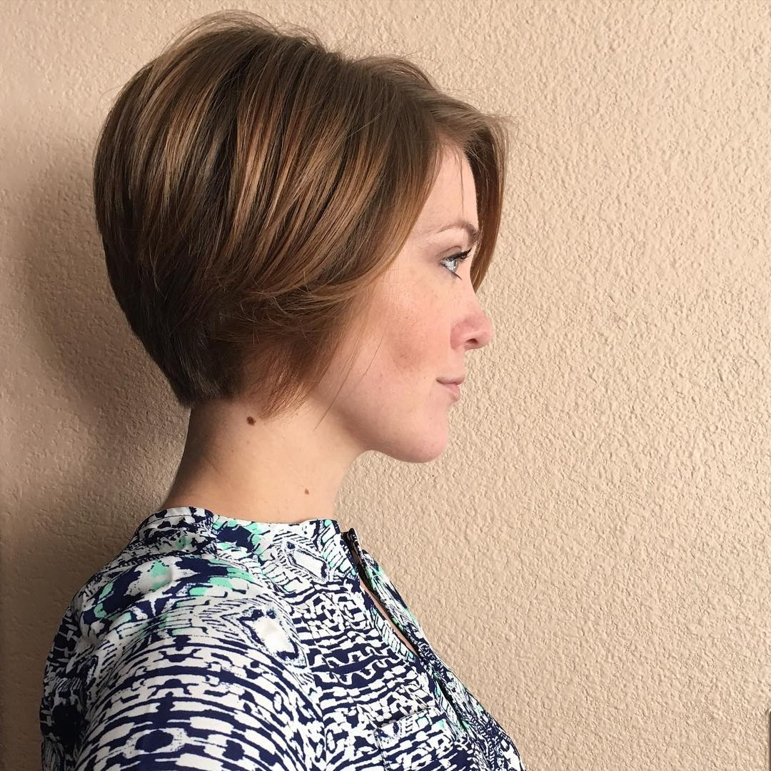 30 Chic Short Pixie Cuts For Fine Hair 2018 | Styles Weekly Inside Current Long Tapered Pixie Haircuts With Side Bangs (View 12 of 15)