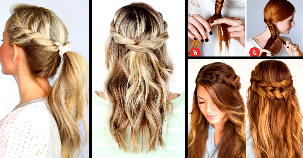 30+ Cute And Easy Braid Tutorials That Are Perfect For Any Occasion With Most Up To Date Simple Braided Hairstyles (View 13 of 15)