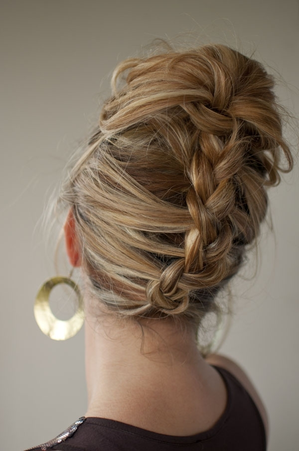 30 Days Of Twist & Pin Hairstyles – Day 13 – Hair Romance With Regard To Newest Reverse Braid Mohawk Hairstyles (View 11 of 15)