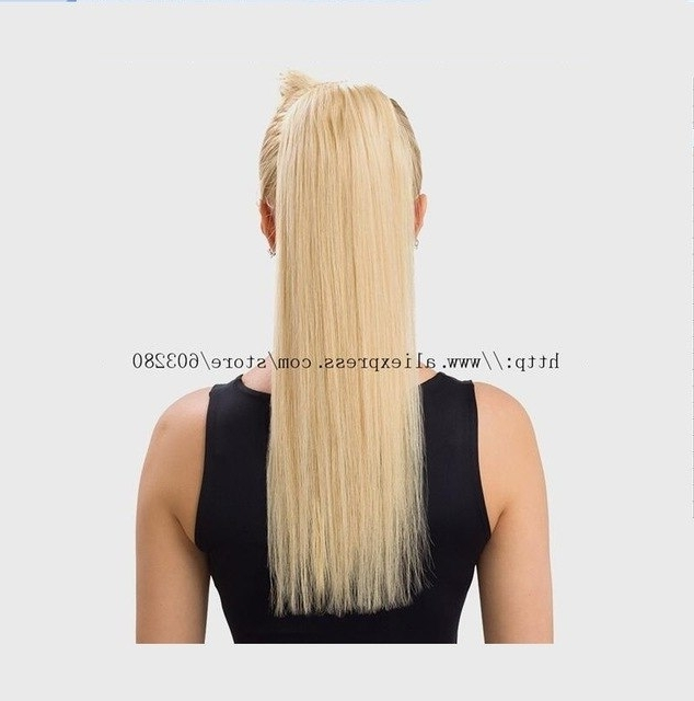 30 Fantastic French Braid Ponytails 16 32Inch Straight 180G Wrap In Recent Sculptural Punky Ponytail Braids (View 10 of 15)