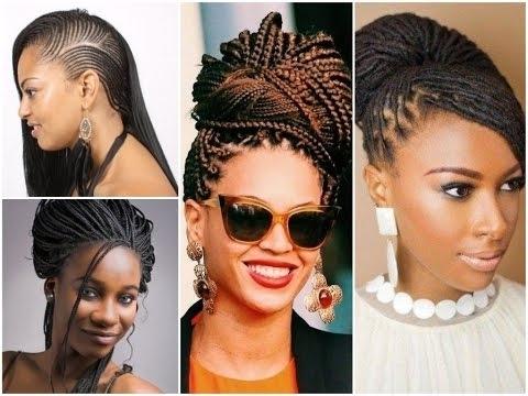 30 Fashion Braid Hairstyles For Black Women – Youtube Inside Most Recent Braided Hairstyles For Black Women (View 10 of 15)