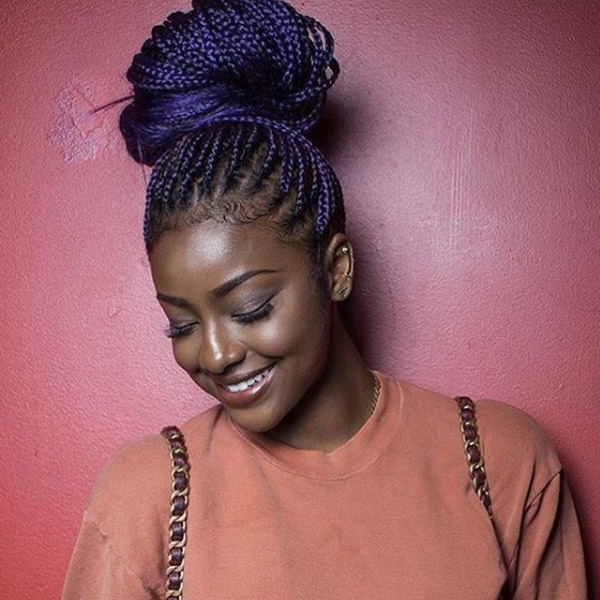 30 Gorgeous Braid Styles To Try Now – Thefashionspot Regarding Most Current Top Knot Bun With Cascade Of Thin Braids (View 2 of 15)