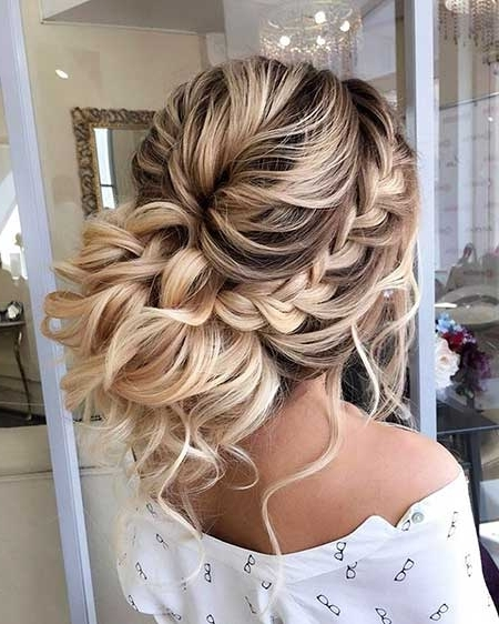 30+ New Braided Updo Hairstyles | Hairstyles & Haircuts 2016 – 2017 Pertaining To Most Up To Date Braided Updo With Curls (View 8 of 15)
