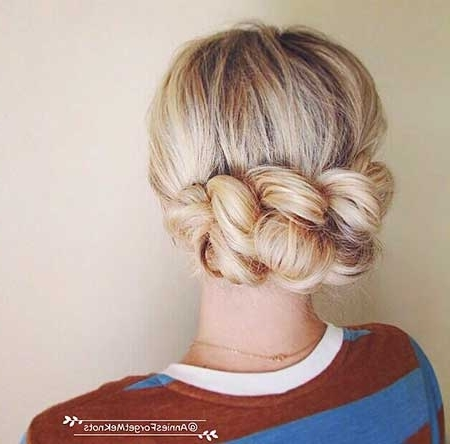 30+ New Braided Updo Hairstyles | Hairstyles & Haircuts 2016 – 2017 With Regard To Most Up To Date Braided Evening Hairstyles (View 12 of 15)
