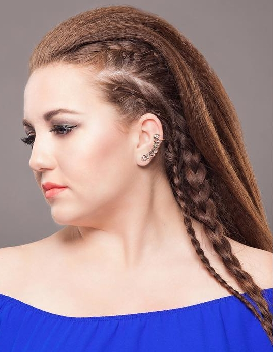 30 Trendy Crimped Hair Styles — Rock It As Never Before Throughout Most Popular Crimped Crown Braids (View 8 of 15)