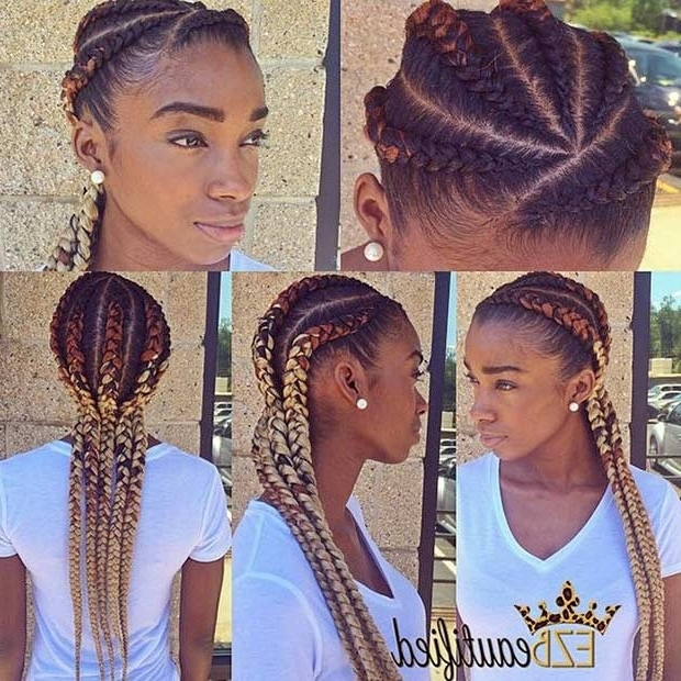 31 Best Ghana Braids Hairstyles | Stayglam Within Most Up To Date Ghanaian Braided Hairstyles (View 9 of 15)