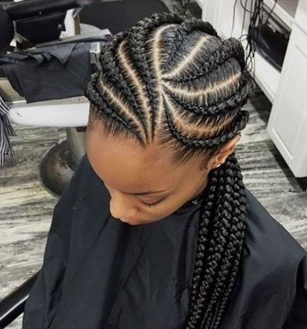 31 Ghana Braids Styles For Trendy Protective Looks With Regard To Current Ghana Braids Hairstyles (View 5 of 15)