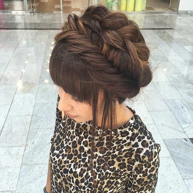 31 Most Beautiful Updos For Prom   Stayglam Within Current Braided Hairstyles For Homecoming (View 12 of 15)