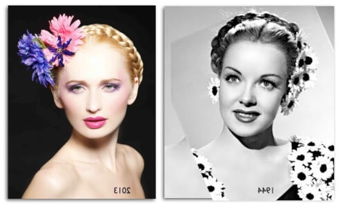 31 Vintage Hairstyles That Are Totally Hot Right Now In Current Braided Vintage Hairstyles (View 11 of 15)